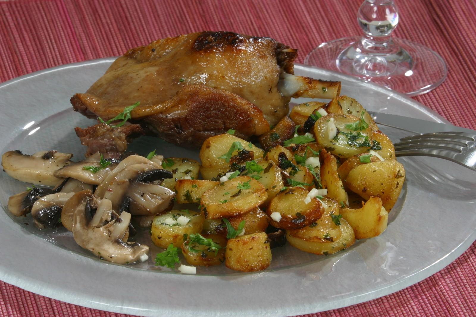 Confit de canard cocina de lolo 2 1 - Cuisiner des cuisses de canard confites ...